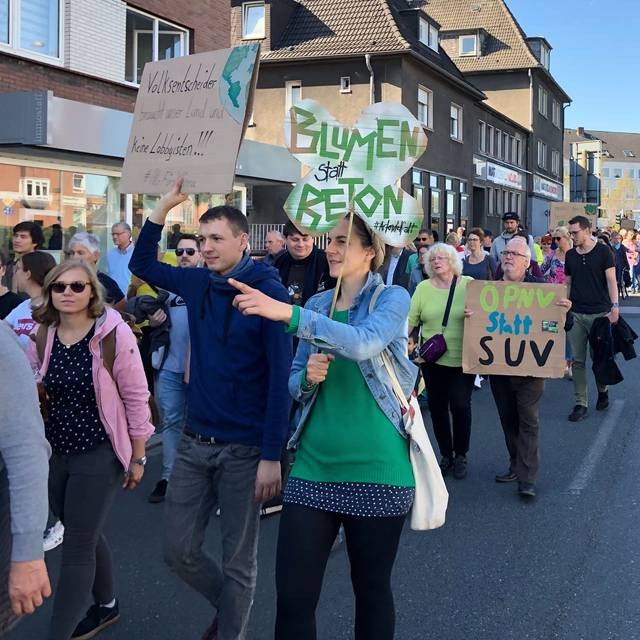 Klimademo Fridays for Future