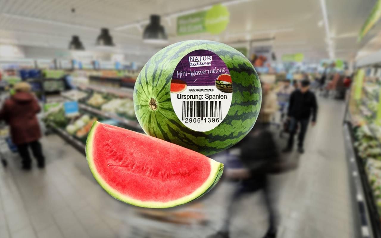 Wassermelonen Rückruf Aldi