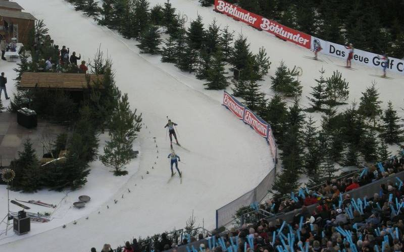 Die Biathlon World-Team-Challenge am 27. März